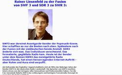 SWF3 war Kult | Bild: privater Screenshot | © www.hifi-news.de / Rainer Liesenfeld